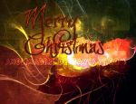 Grungy Christmas Card by SerendipityStock