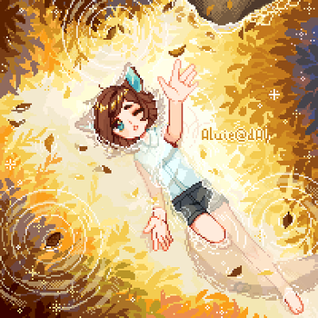[P] Autumn Leaves by Aluie