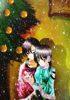 Merry Christmas: China x Vietnam: Hetalia by DarkGirl1999