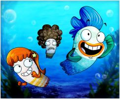 Fish Hooks by Zakeno