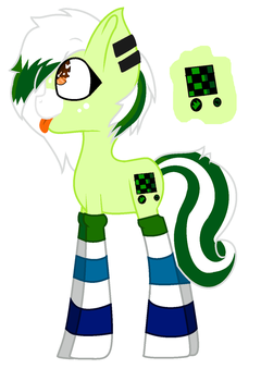 Neon Checkers (Gift) by Jessie-Puffed-Dash13