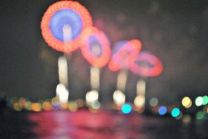 Bokeh Fireworks part 2 by therainontheirparade