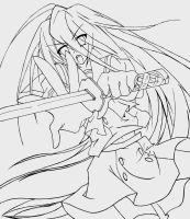 Shana 4 outline by kazenoryu2