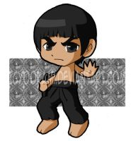Bruce Lee by icyookami