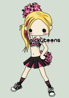 Avril Lavigne Cheerleader by NickyToons