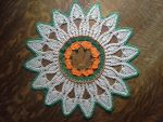 Pumpkin Patch Doily by koepr5333