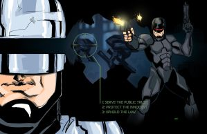Robocop by Anmph