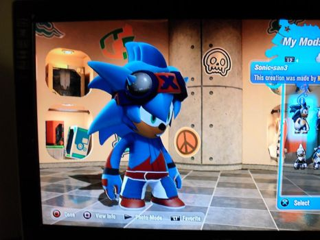 Sonic Mod 2 Outfit 2 by bullzye