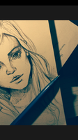Pen sketch by AnushaPhotography