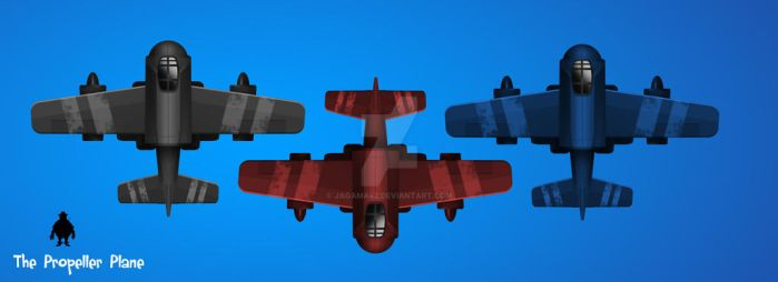 Propeller Plane concept by jagama42