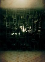 Chair maze by Teledheldin