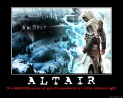 Altair Motivational Poster by HC-IIIX