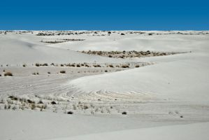 TRUE BLUE SKY VISTA WHITE SANDS by CorazondeDios