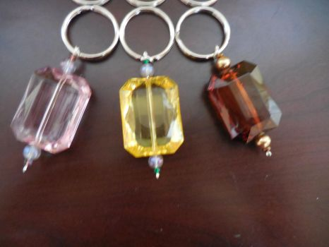 Beaded Keychains FOR SALE by crystalcorgiboutique