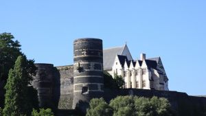 Castle of Angers by UdoChristmann