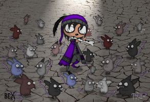 once upon a horror-The pied piper by Lttle-Horrors