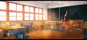 Classroom by angelcake12