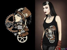 Steampunk Mad Hatter by Euflonica