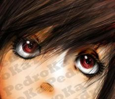 Crimson eyes by Pdk-almeida