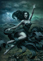 Witch of the Glens by adam-brown