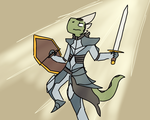 Simo The Knight by CalculatorBomb