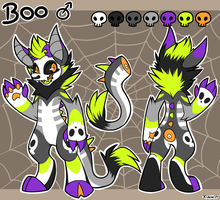 Boo Monster Ref by TheWardenX3