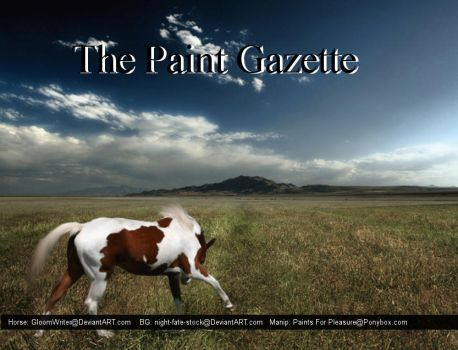 The Paint Gazette by strick7267