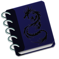 Dragon-Minded Journal Header by Drake09