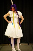 Rarity Cosplay 2 by LeafyWildFlower