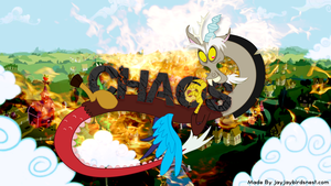 Discord: Chaos in Equestria by jayjaybirdsnest