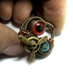 Airship Pirate Steampunk Ring by CatherinetteRings