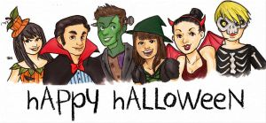 HAPPY GLEE HALLOWEEN by lalla17