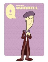 Q is for Quirinus Quirrell by jksketch