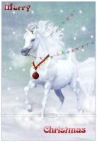 Merry Christmas Horse by Nameda