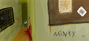 Minty in Silent Hill by MintMongoose