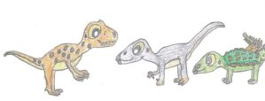 The First Baby Dinosaurs by Crash-the-Megaraptor