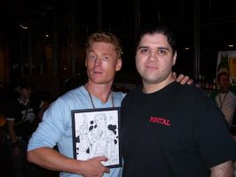 Zack Ward and I by ChrisHolm
