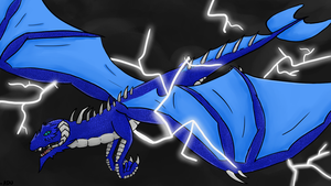 Another Dragon Commission by ADU101