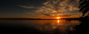 Sunset Panorama by Sammy-See