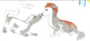 IchiHichi Wolves by Ishkie