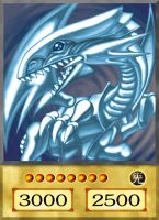 Blue-Eyes White Dragon [Anime] by YugiohFreakster