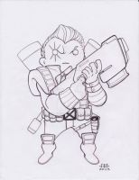 Lil Dude Cable by MARR-PHEOS