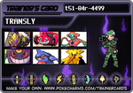 pokemon card UPDATE by translyania