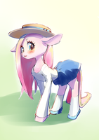 Pinkamena in summer dresses by conbudou