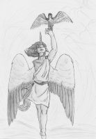 one-armed angel WIP by unigirl-cloudghost