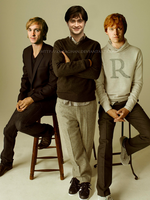 Malfoy, Potter and Weasley by KMeaghan