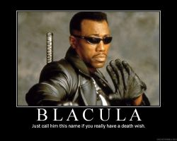 Blade Demotivational by Master-of-the-Boot