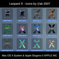 Leopard X - Icons by iFab