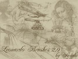 Leonardo Da Vinci Brushes 2.0 by squalo
