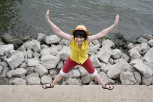 Monkey D. Luffy - Marineford   I by Wings-chan
